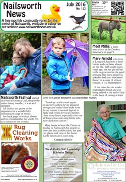 Nailsworth News - July_2016
